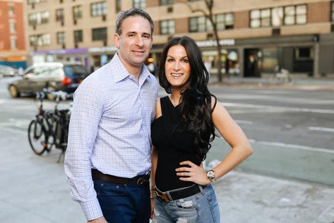 Doanh nhân Dan Rochkind và vợ tương lai, Carly Spindel. Ảnh: NYP.