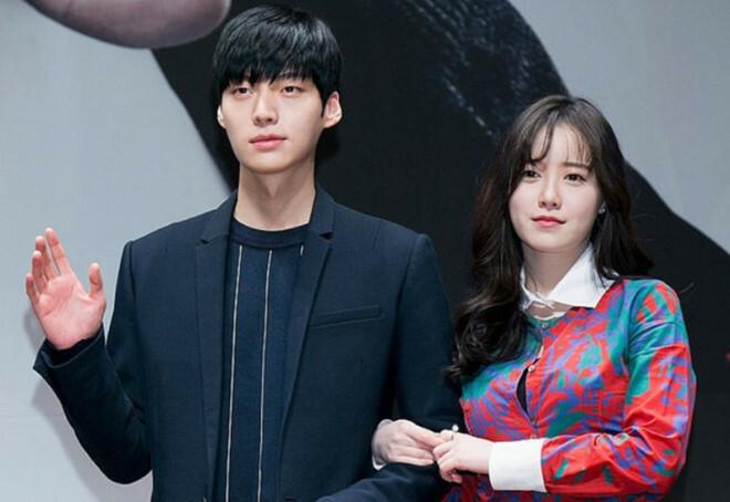 Goo Hye Sun và Ahn Jae Hyun khi còn chung sống.