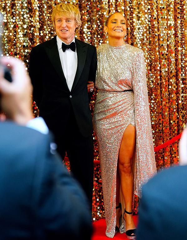 Jennifer đóng cùng danh hài Owen Wilson.