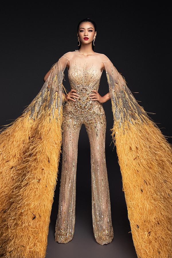 Chuẩn bị cho bán kết Miss Grand International 2019 vào tối 23/10 (giờ Hà Nội), Á hậu Kiều Loan và nhà thiết kế Đỗ Long