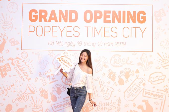 Ra mắt tại gian hàng TN-36, Đ9-8, Tầng B1 TTTM Vincom Mega Mall Times City, Popeyes hứa hẹn sẽ trở thành một điểm check-in ưa thích cho các fan gà rán tại thủ đô.