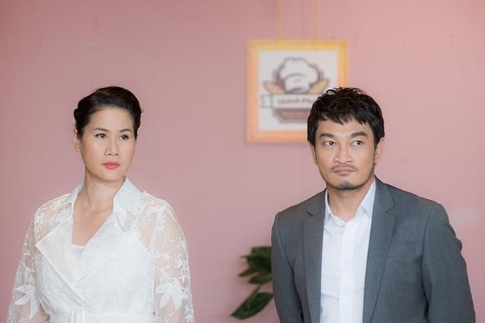 Thân Thúy Hà và Trương Minh Quốc Thái có nhiều cảnh diễn chung.