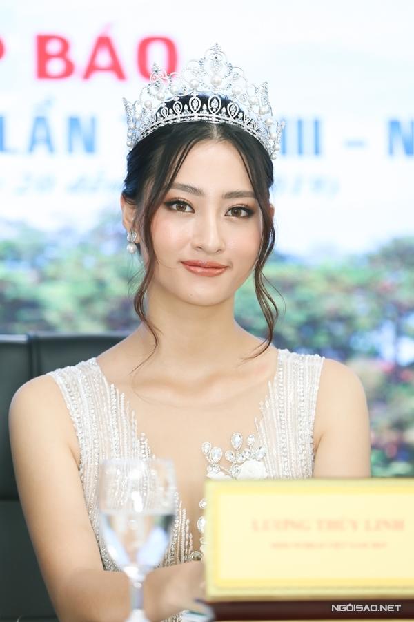Hoa hậu Lương Thùy Linh làm đại sứ fastival hoa Đà Lạt - 2