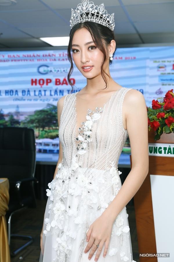 Hoa hậu Lương Thùy Linh làm đại sứ fastival hoa Đà Lạt - 1