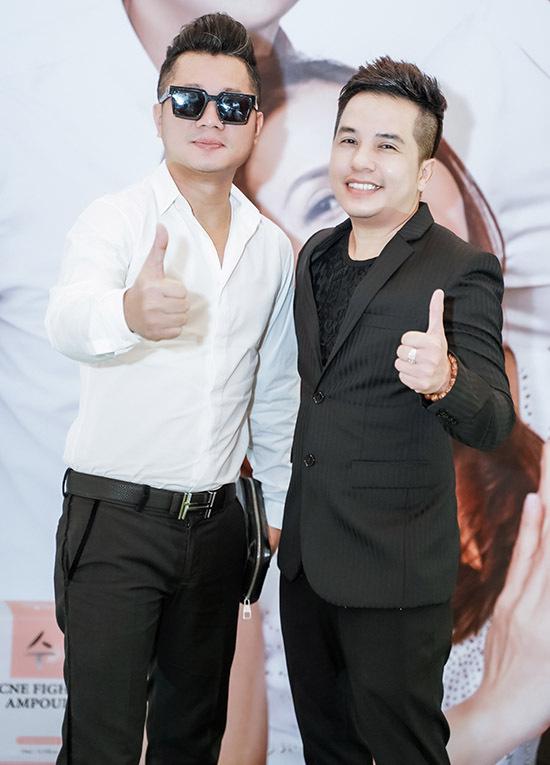 Ca sĩ Lâm Vũ là đồng nghiệp thân thiết với con trai nghệ sĩ Lệ Thuỷ.