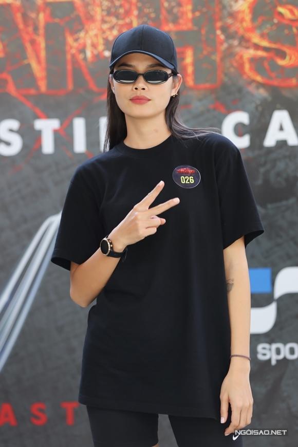 Người mẫu Trần Hiền.
