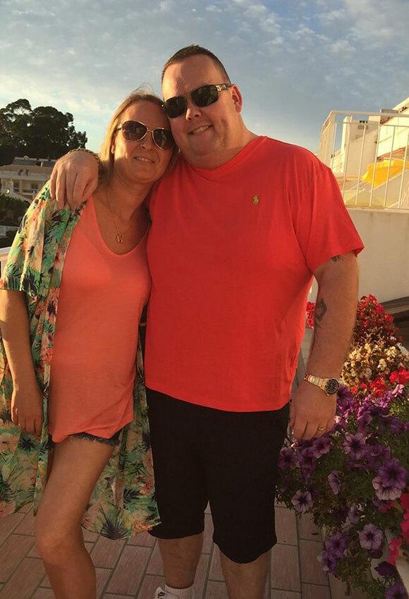 Joanna Maher và chồng Thomas (38 tuổi) trước khi bị bắt vì nghi ngộ sát và buôn người. Ảnh: FB.