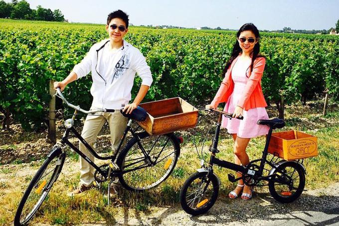 Eric Tse và chị gái vô cùng thân thiết, cả hai thường xuyên chia sẻ hình ảnh đi du lịch và khám phá thế giới cùng nhau. Ảnh: Instagram.