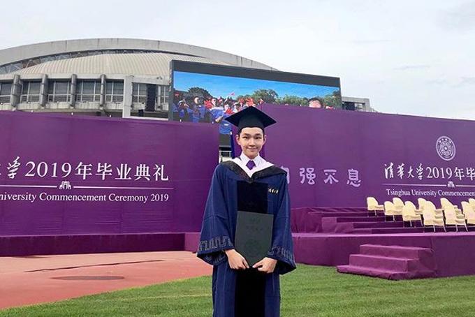 Sau khi tốt nghiệp đại học ngành tài chính tại Trường Wharton, Eric tiếp tục học thạc sĩ tại đại học Thanh Hoa (Trung Quốc) theo chương trìnhhọc bổng quốc tế Schwarzman Scholar.