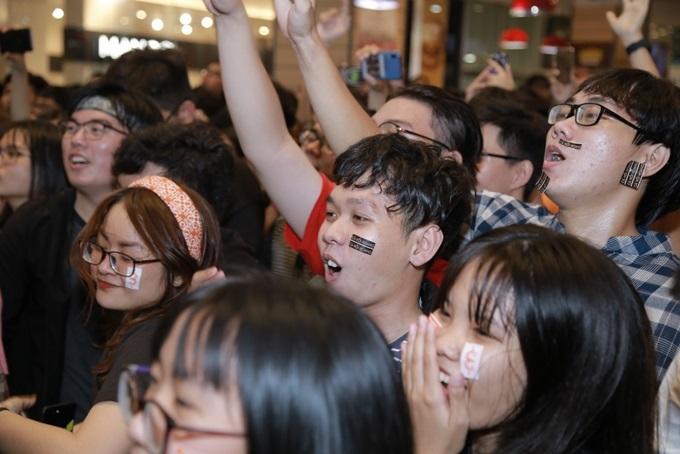 Ban tổ chức cho biết vui mừng khi sự kiện được nhiều người hưởng ứng, trong đó cuộc thi Music Cover Contest do Levi's tổ chức cũng tạo hiệu ứng tốt.