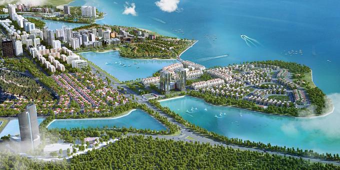 Đại đô thị Halong Marina nằm trong lòng di sản vịnh Hạ Long với các tiện ích all in one.