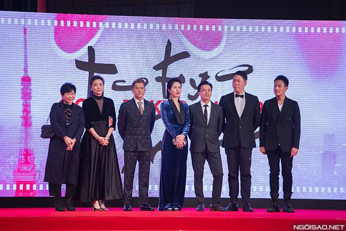 Quách Phú Thành tới LHP Tokyo để ra mắt phim mới có tên I'm Livin' It. Anh đi cùng đoàn phim.