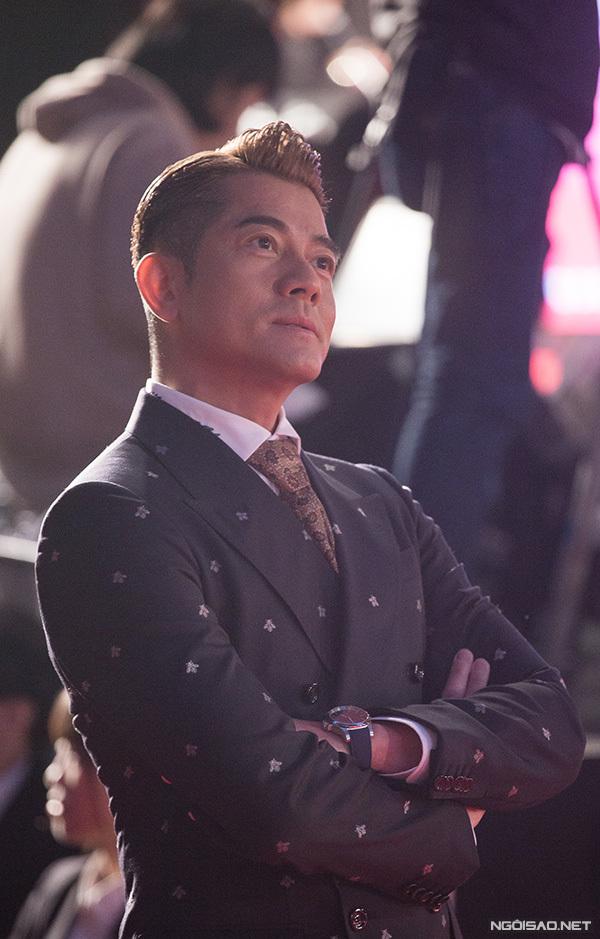 Thiên vương Hong Kong Quách Phú Thành phong độ ở tuổi 54.