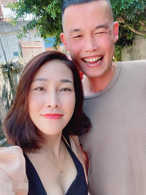 Hiệp Gà và vợ cũ Diệu Thúy.