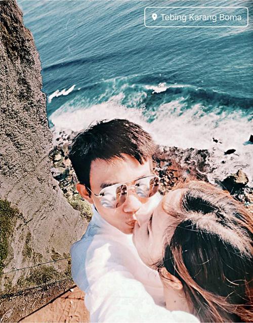 Vợ chồng Minh Nhựa ở resort dành cho ngôi sao - 1