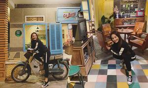 Bảo Thanh thích tiệm cà phê cổ điển ở Đà Lạt