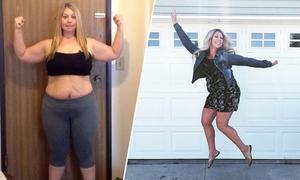 Bị con chê béo, mẹ giảm 62 kg