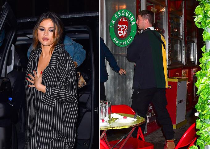 Selena và Samuel (phải) hội ngộ vào tối thứ ba.