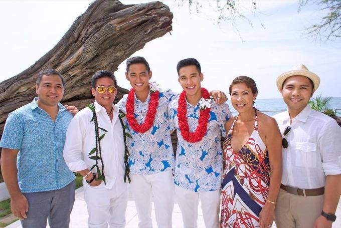 Nửa kia của mỹ nam điện ảnh là Rhonee Rojas, mang trong mình 5 dòng máu, người mẫu quốc tế chủ yếu sinh sống, làm việc ở Thái Lan. Anh từng đại diện tiểu bang Hawaii tham dự cuộc thi Manhunt International 2011 và Men Universe Model 2012. Cuộc sống hôn nhân của cặp điển trai diễn ra trong bình yên. Cả hai thường xuyên có những chuyến du lịch, tận hưởng cuộc sống chậm bên nhau.