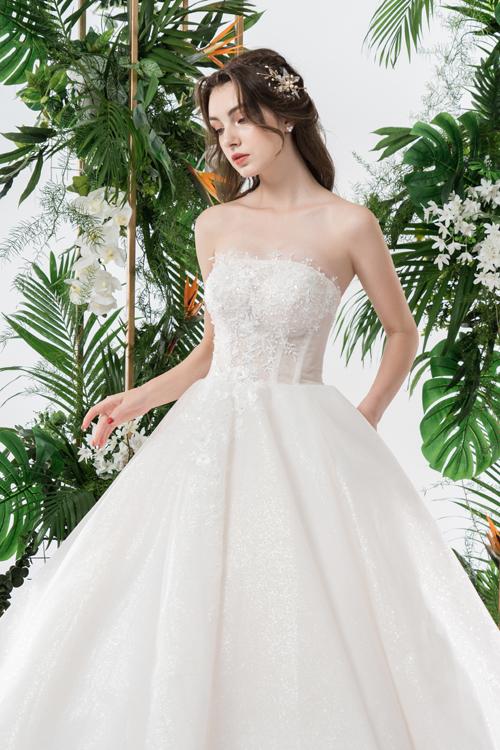 Váy cưới 2 trong 1 lấy cảm hứng từ đóa hoa - page 2 - 6