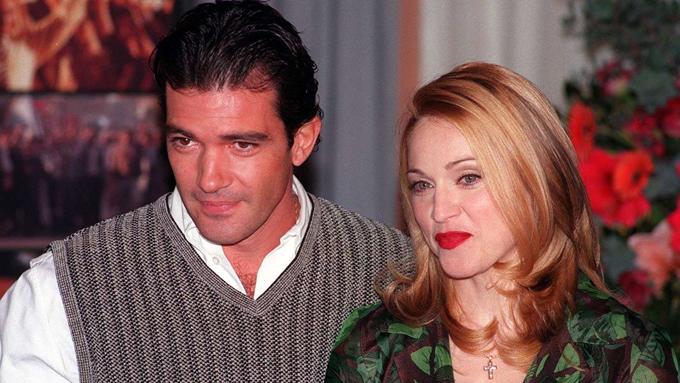 Antonio Banderas và Madonna.