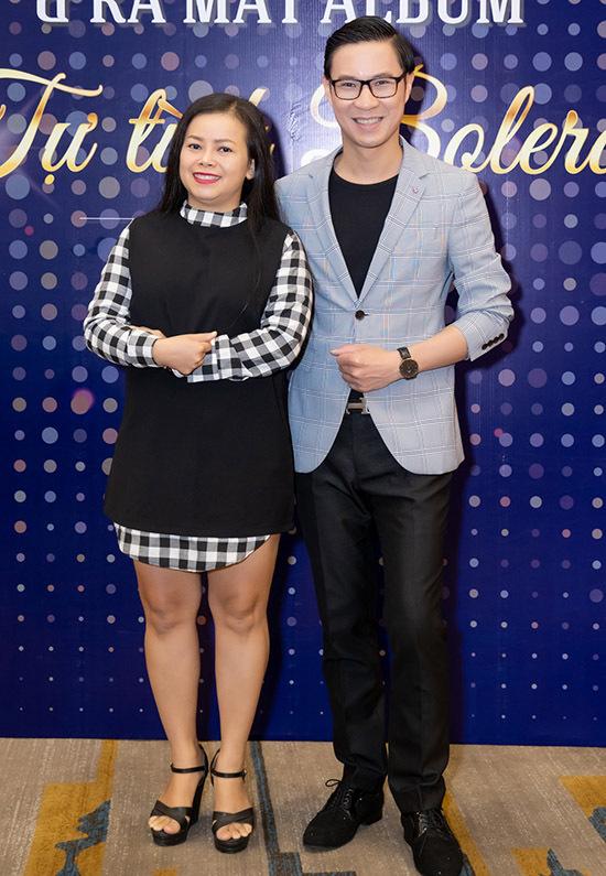 Ca sĩ Diễm Phương và MC Anh Quân đến ủng hộ Ngọc Châu ra sản phẩm mới và trở thành đại sứ của một thương hiệu.
