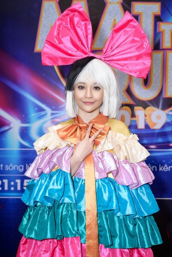 Ca sĩ MiA trông khác lạvới hình tượngca sĩ Sia.