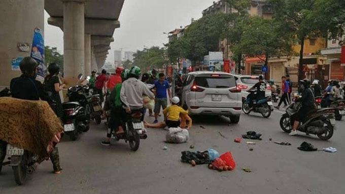 Vụ tại nạn làm nhiều người nhập viện cấp cứu
