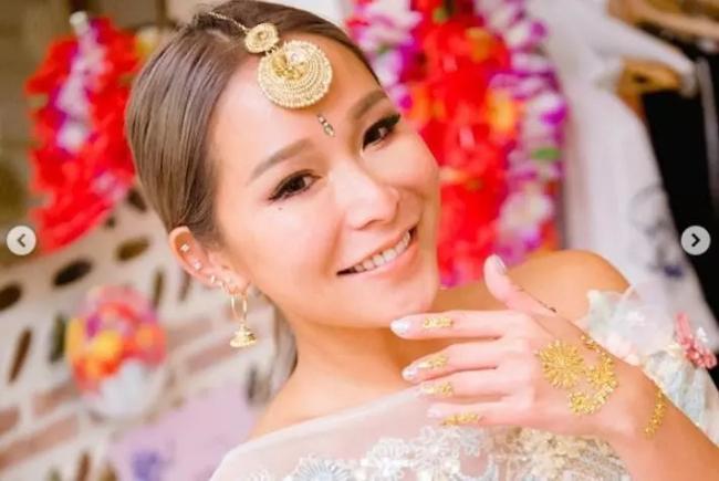 Trần Tuệ Linh được cho là rất hạnh phúc khi chiến thắng trong cuộc chiến giành chồng, giữ gia sản. Cô là người vợ hai, đến với Alvin Chau sau khi doanh nhân này bỏ vợ đầu.