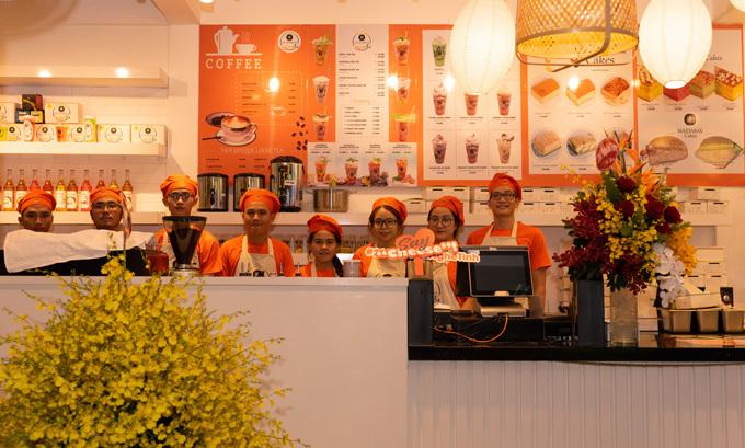 Le Castella Young là cửa hàng đầu tiên tại Việt Nam của thương hiệu Le Castella dành riêng cho giới trẻ.