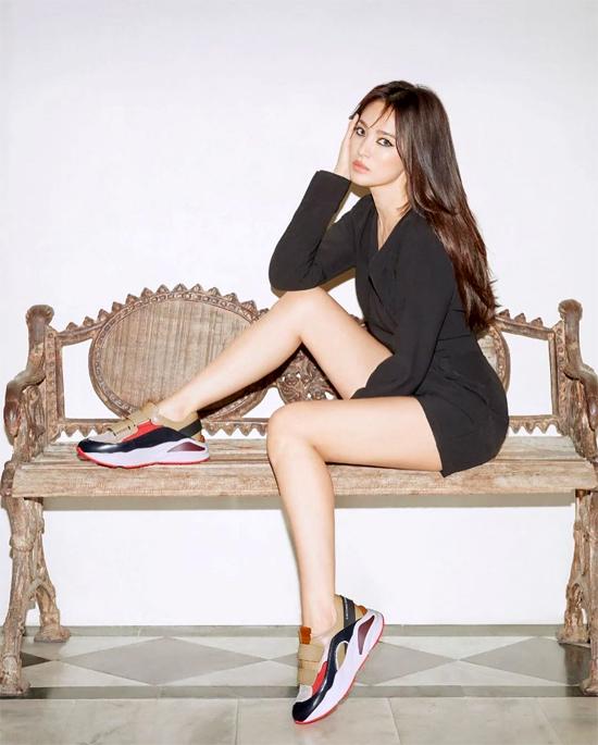 ... và Song Hye Kyo của hiện tại.