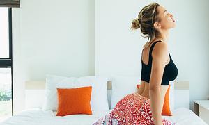 Bài tập yoga tăng hứng khởi ngày đầu tuần