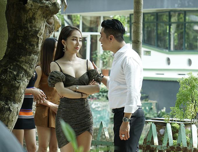 Việt Anh, Quỳnh Nga trong phim Sinh tử.