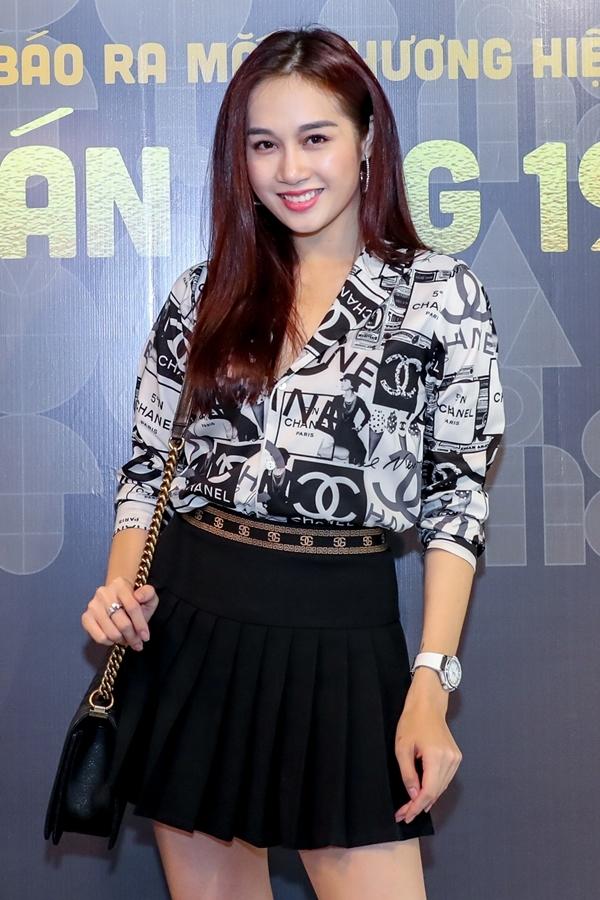 Giải đồng Siêu mẫu 2012 Lê Thu An hiếm hoi tái xuất.