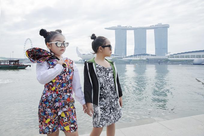 Đạo diễn Nguyễn Hưng Phúc chia sẻ, Lunar Chong (trái)va Suri Thiên Kim (phải) là 2 mẫu nhí nổi bật của câu lạc bộ. Hai béliên tục nhận được các lời mời tham gia biểu diễn và chụp ảnh tại nước ngoài.