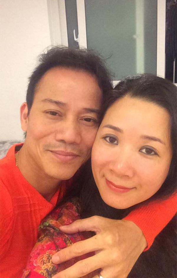 Chế Phong và Thanh Thanh Hiền sau khi kết hôn.