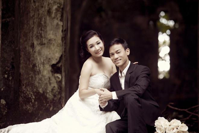 Ảnh cưới của Thanh Thanh Hiền và Chế Phong.