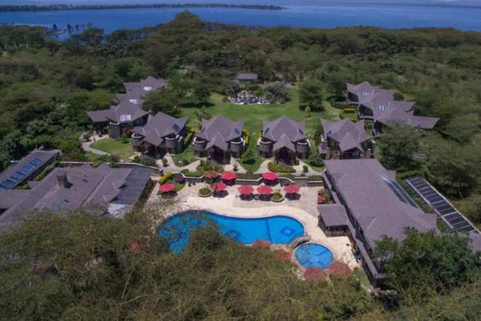 Resort Enashipai tại Naivasha, Kenya là một trong những bất động sản của triệu phú quá cốJohn Mwangi Kagema. Ảnh: Tuko.