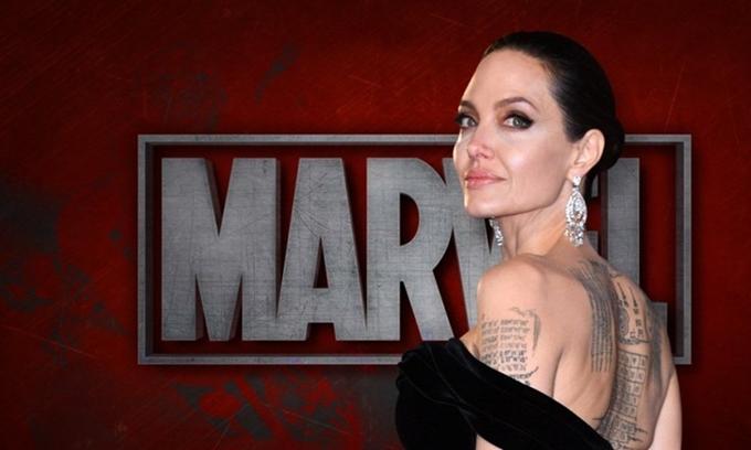 Angelina Jolie lần đầu đóng phim Marvel.