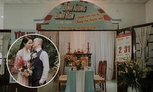 Lễ đính hôn phong cách thập niên 1960 ở Tiền Giang