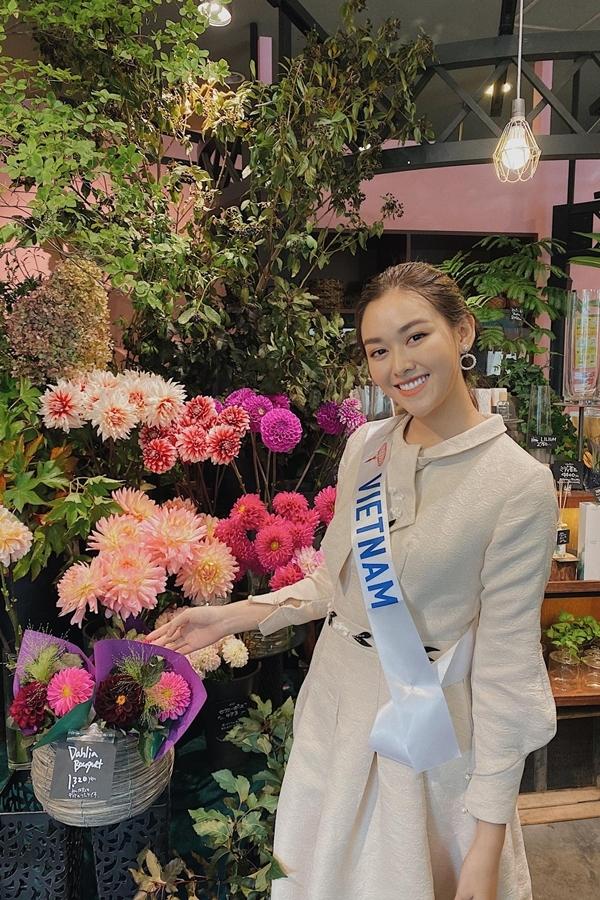 Tường San lên đường thi Miss International 2019 từ hôm