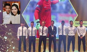 Mạc Hồng Quân vắng mặt khi được tôn vinh ở V-League