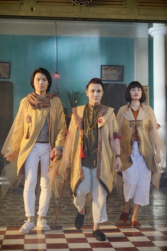 Từ trái qua: Quang Trung, Huỳnh Lập, Hạnh Thảo.
