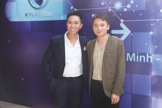 Tới chia vui cùng Anh Đức có ca sĩ, nhạc sĩ Phan Mạnh Quỳnh.