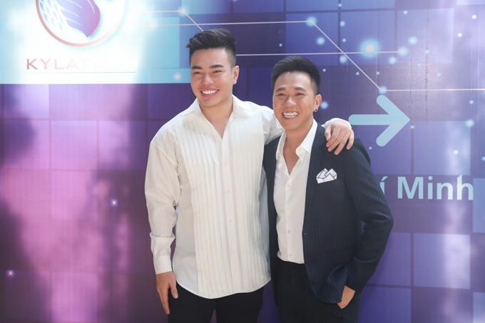 Lê Dương Bảo Lâm cũng tới lễ ra mắt dự án Inline Marketing.