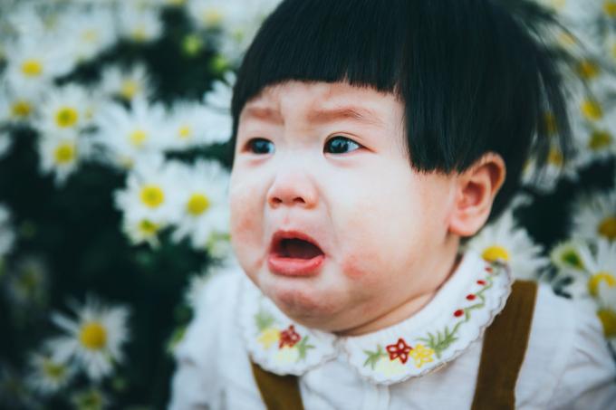 Những ảnh đầy biểu cảm của Mít do Lã Anh đăng tải được một số bạn bè của bố mẹ bé, nhiều người xem đùa rằng:Con thèm uống sữa mà mẹ cứ bắt chụp cúc họa mi hoặc Nhà bao việc mà mẹ còn bắt chụp ảnh.