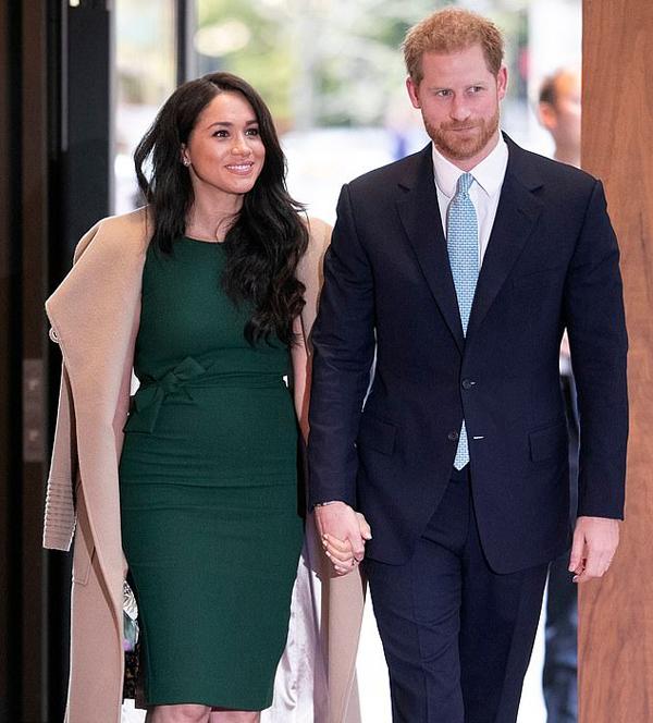 Vợ chồng Công tước xứ Sussex dự sự kiện hồi tháng 10 ở London, Anh. Ảnh: Rex.