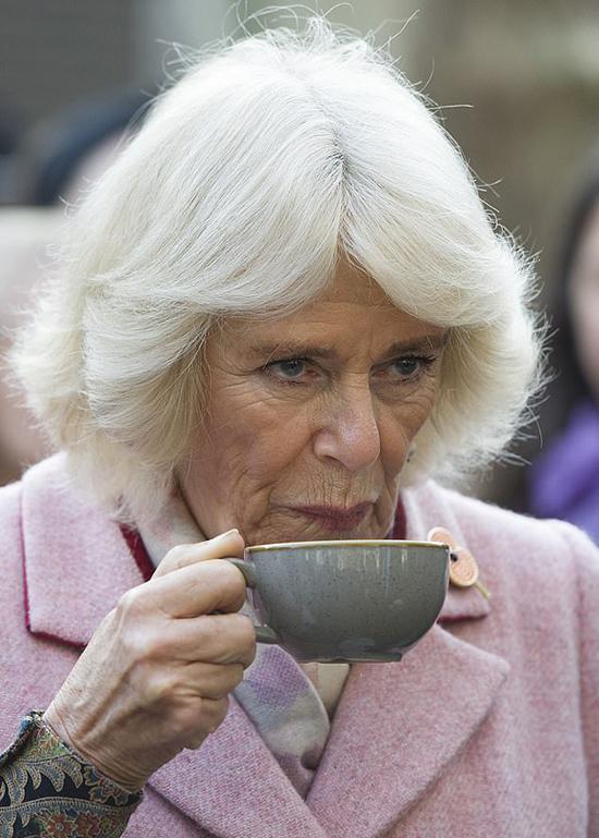 Bà Camilla trong sự kiện hôm 6/11 ở London. Ảnh: AP.