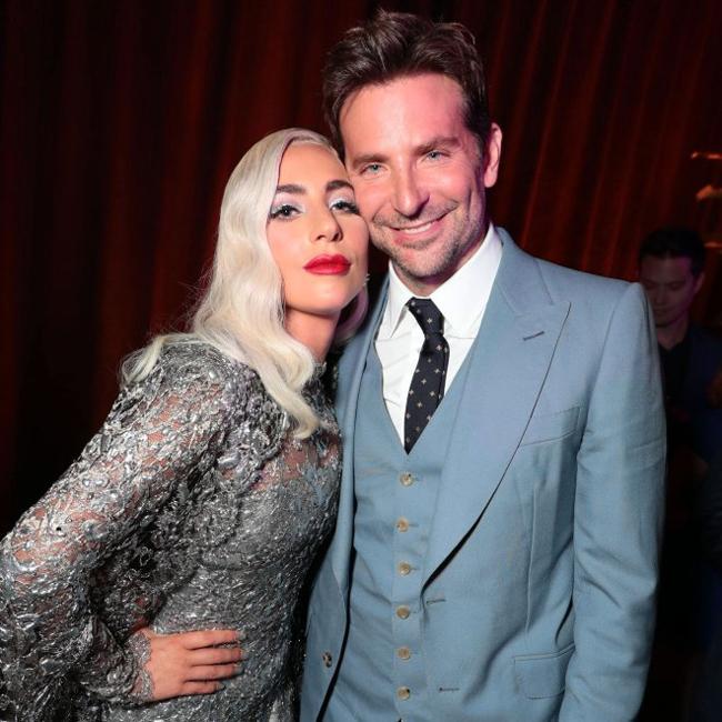 Lady Gaga và Bradley Cooper tại lễ ra mắt phim A Star Is Bor ở Los Angeles tháng 9/2018.