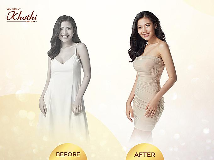Người mẫu Chúng Huyền Thanh giảm 18kg, lấy lại vóc dáng sau sinh.